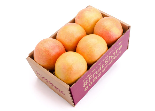 FruitShare™ farm fresh fruit club - organic fruit - organic rio star grapefruit