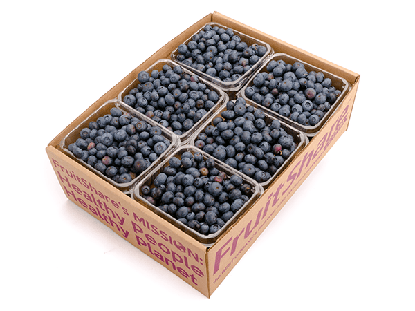 Seasonal Fruit Gifts - Organic Blueberries - 6 pt