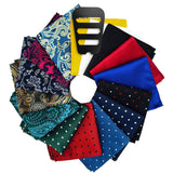 Pocket Square Set for men with Assorted Colors and Patterns