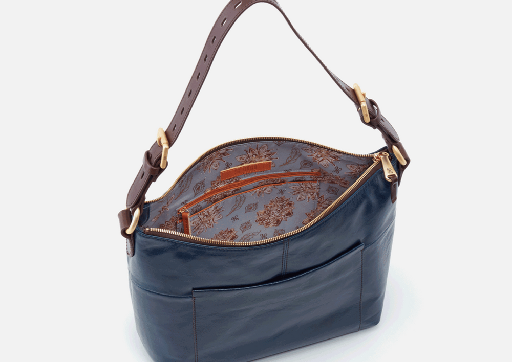 Load image into Gallery viewer, Hobo Charlie Sapphire handbag