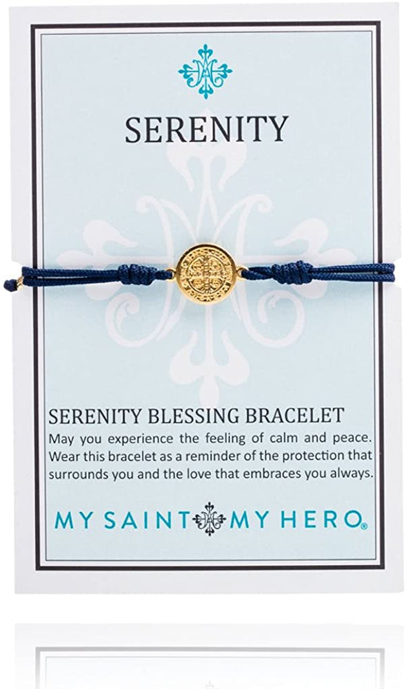 Load image into Gallery viewer, My Saint My Hero Serenity - Navy - Gold.