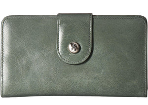 HOBO Danette Wallet in Bottle Green