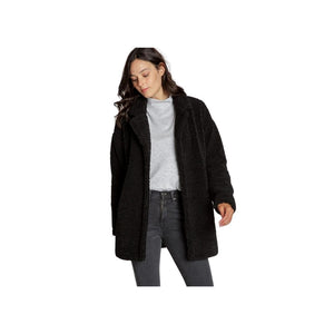 Thread and Supply Dawson Coat, Black.