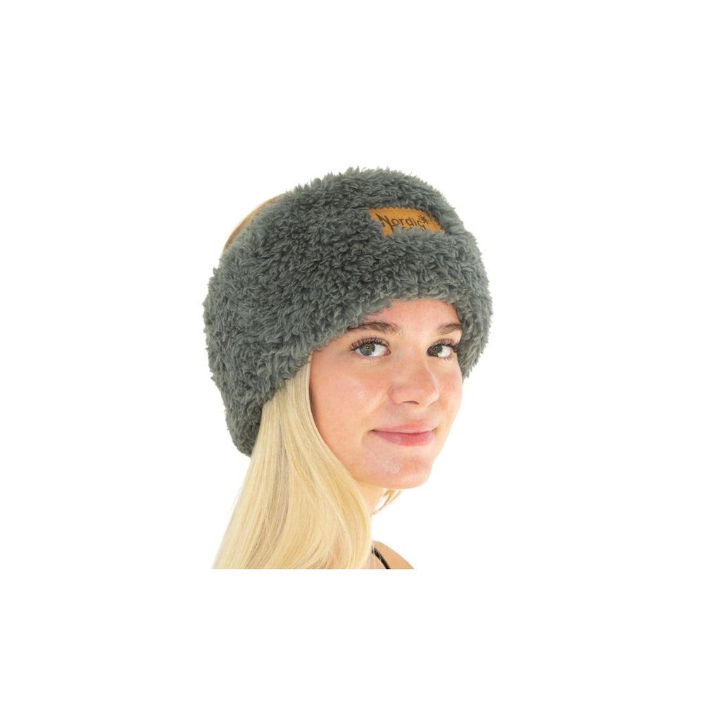 Load image into Gallery viewer, Nordic Beach Koala Grey Head Wrap.
