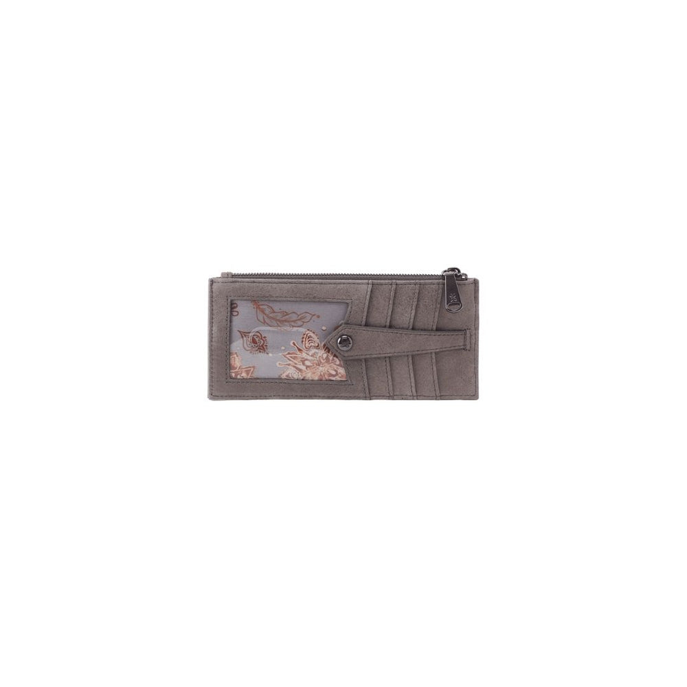 HOBO Linn Credit card Wallet, Titanium