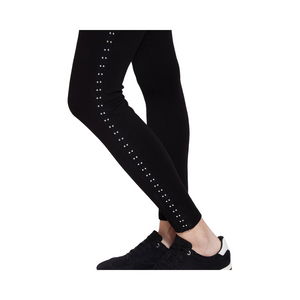 Load image into Gallery viewer, Lysse Heidi Legging Black With Silver Studs.