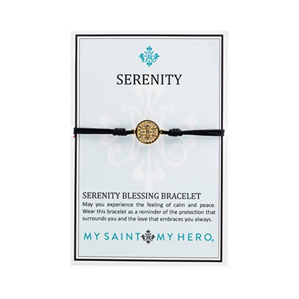My Saint My Hero Serenity - Black - Gold