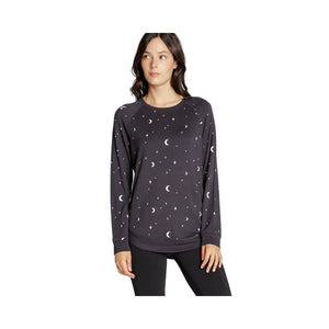Load image into Gallery viewer, Thread and Supply Arden Sweatshirt, Black Night.