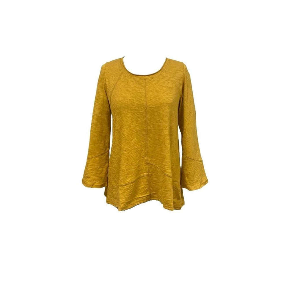 Habitat Cotton Pieced Tunic, Ochre