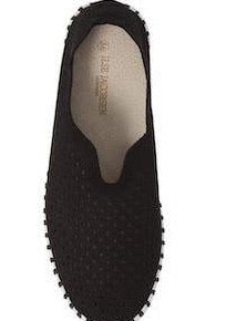 Ilse Jacobsen Tulip- Black with Black Sole