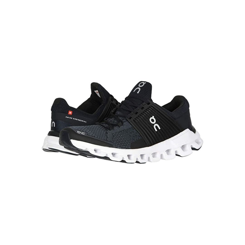 On Cloudswift Running Shoe, Black/Rock