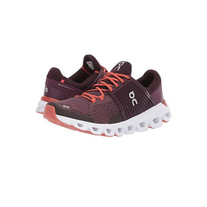 Load image into Gallery viewer, On Cloudswift Running Shoe, Plum/Dawn.
