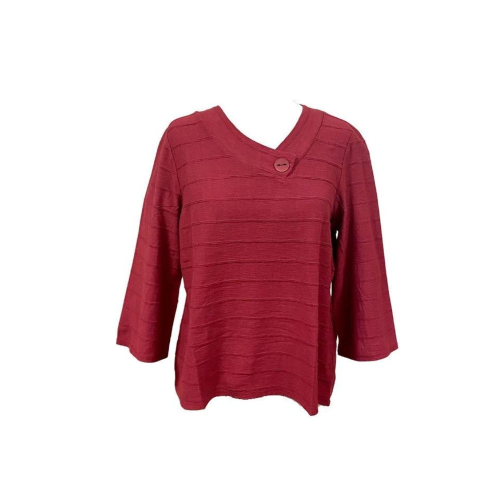 Habitat Crossover V Tee, Barn Red