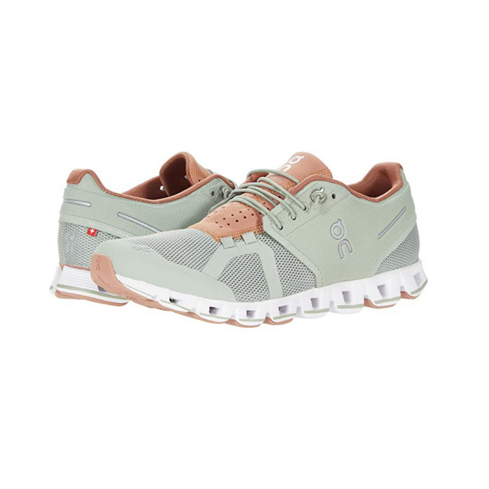 ON Cloud 70 30 Running Shoe, Leaf/Mocha