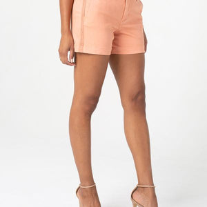 Liverpool Kelsey Slash Pocket With Side Trim Shorts.