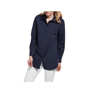 Load image into Gallery viewer, Lysse Schiffer Button Down, True Navy.