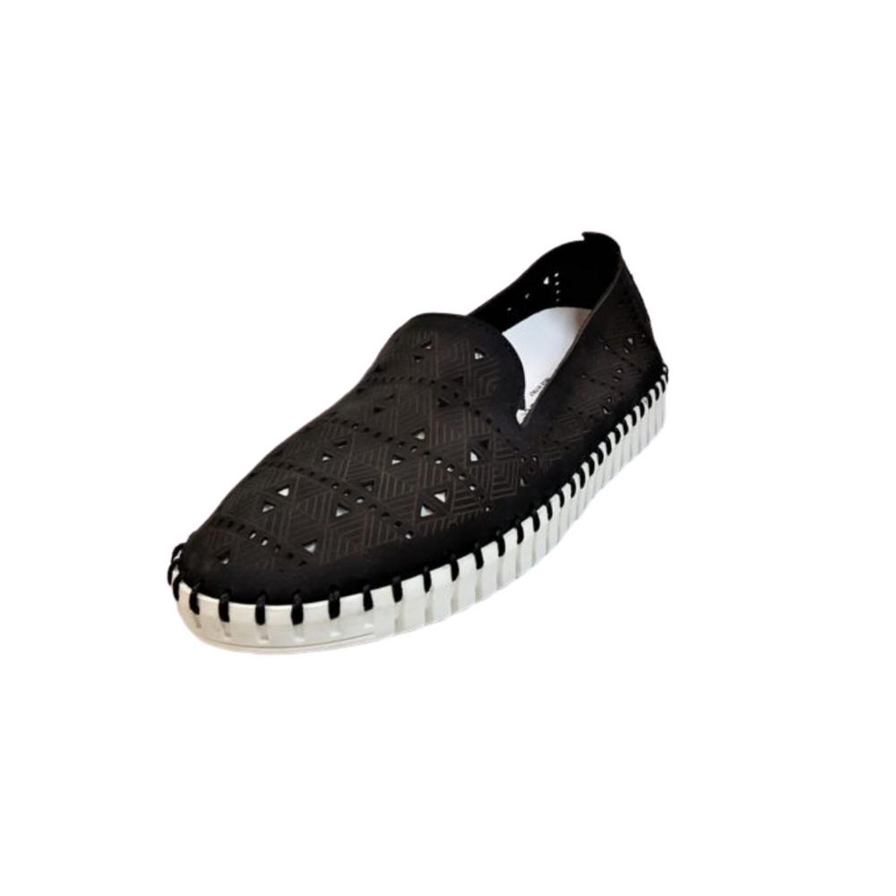 Eric Michael Maria Slip-On, Black