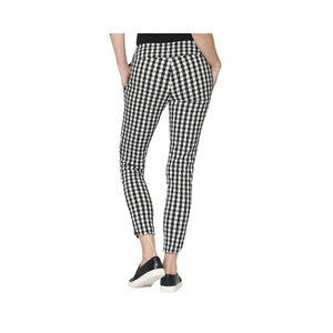 Load image into Gallery viewer, MKD Checkered Print Alexander Skinny Pant