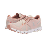 On Cloud Running Shoes Rose/Sand