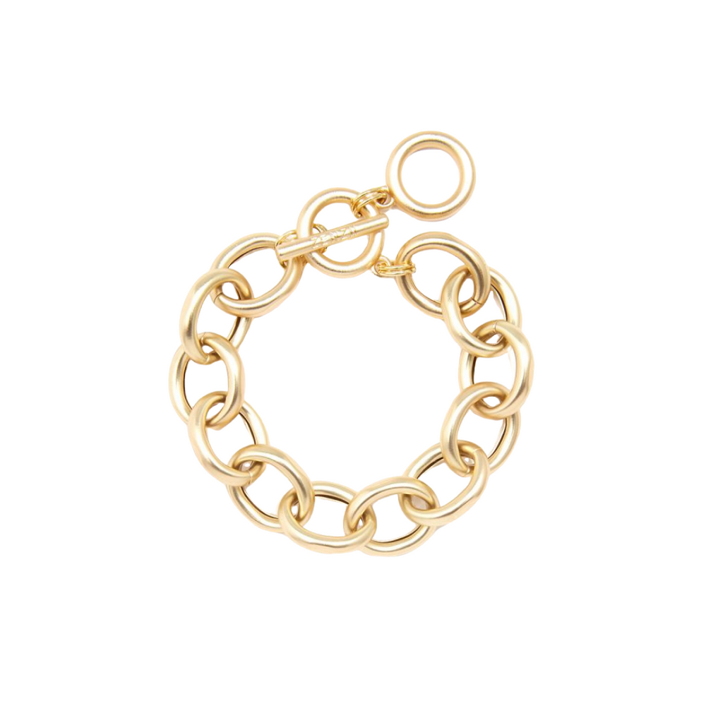 Load image into Gallery viewer, ZENZII Matte Cable Chain Bracelet