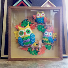 Craft Art, Framed Craft, Art group, Framed Art, 3D Frames, Custom Picture Framing, Melton Picture Framers