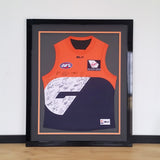 GWS, AFL, idea's, design, new home, styles, display, footy jumper, home decor