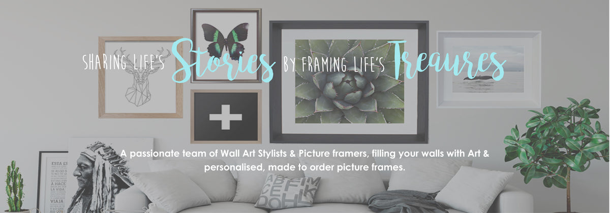 professional picture framing studio creating handmade frames for your treasures and wall art servicing melton, gisborne, sunbury & online