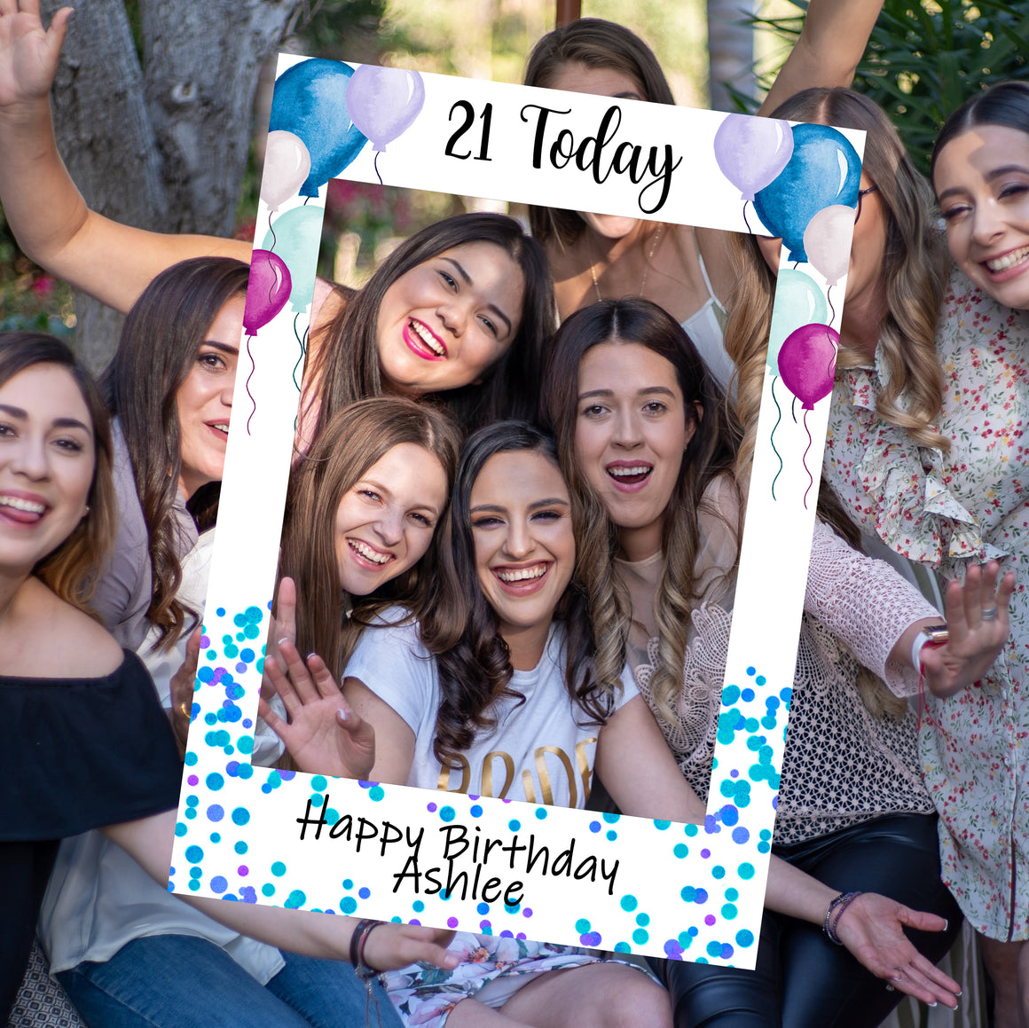 Personalised Birthday Selfie Frame