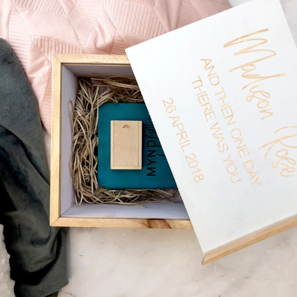 Newborn Personalised Story box set