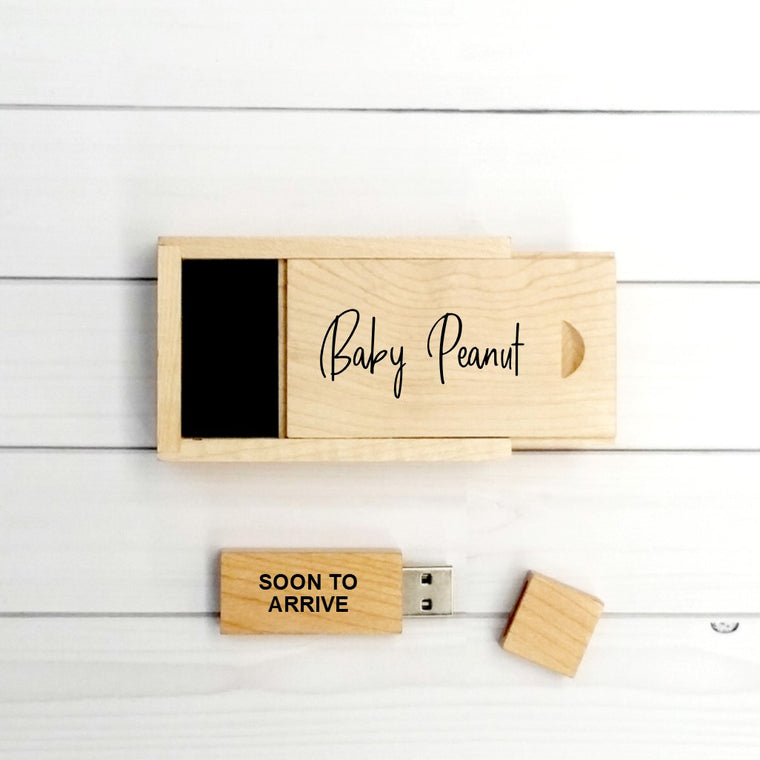 My Pregnancy Personalised USB with Box