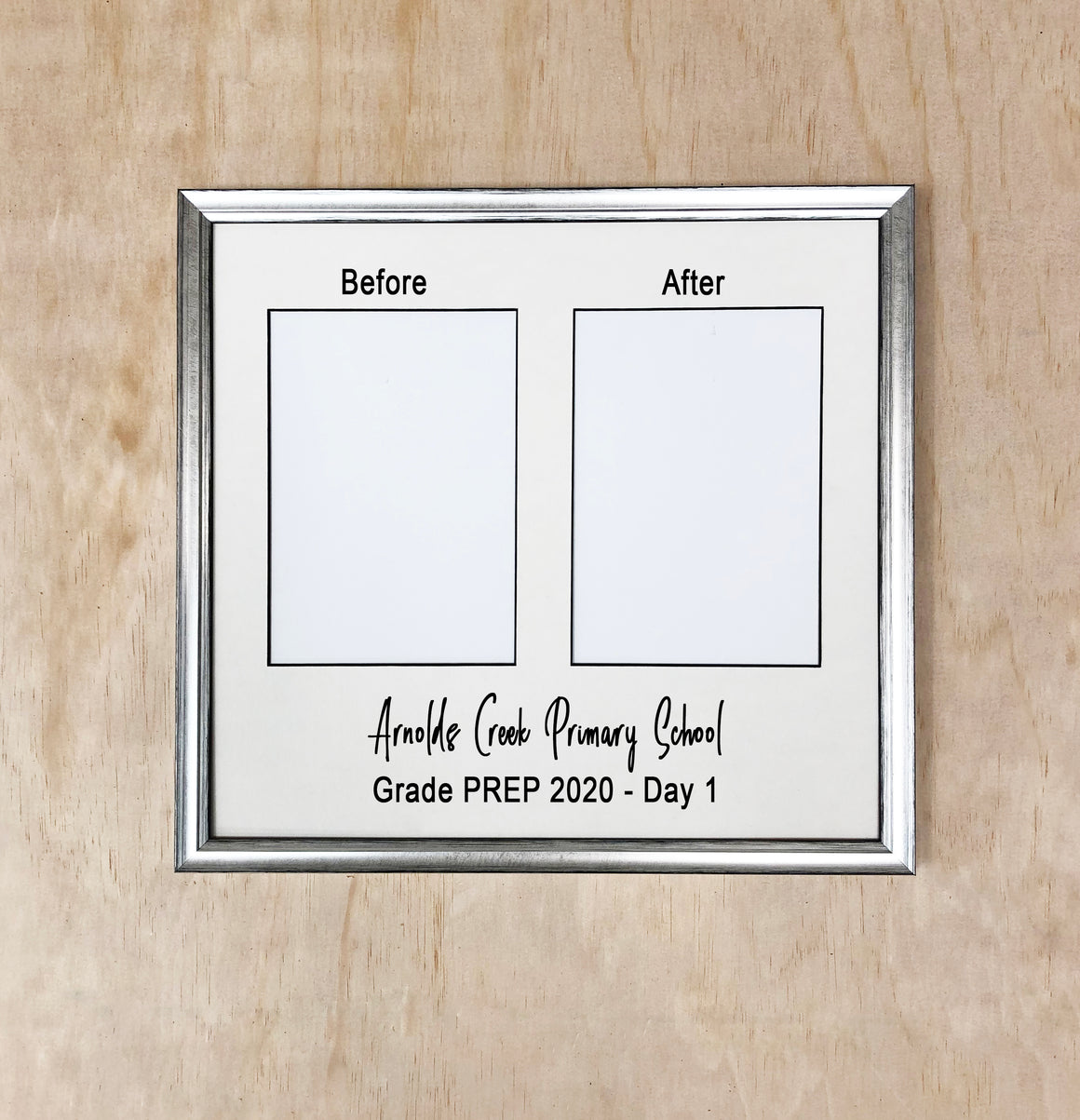 Personalised Back to School Photo Frame