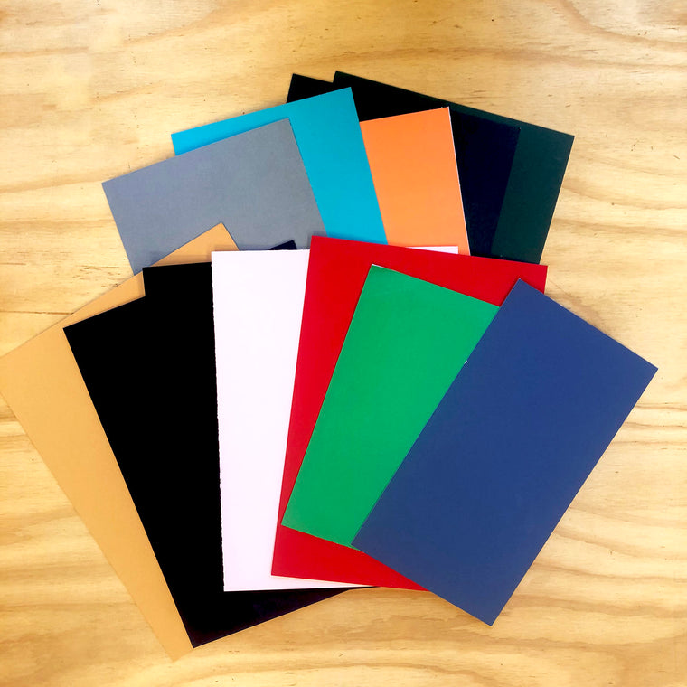 Coloured Matboard Pack