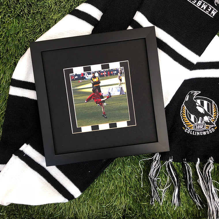 Australian Football Fan Frame - Collingwood Magpies