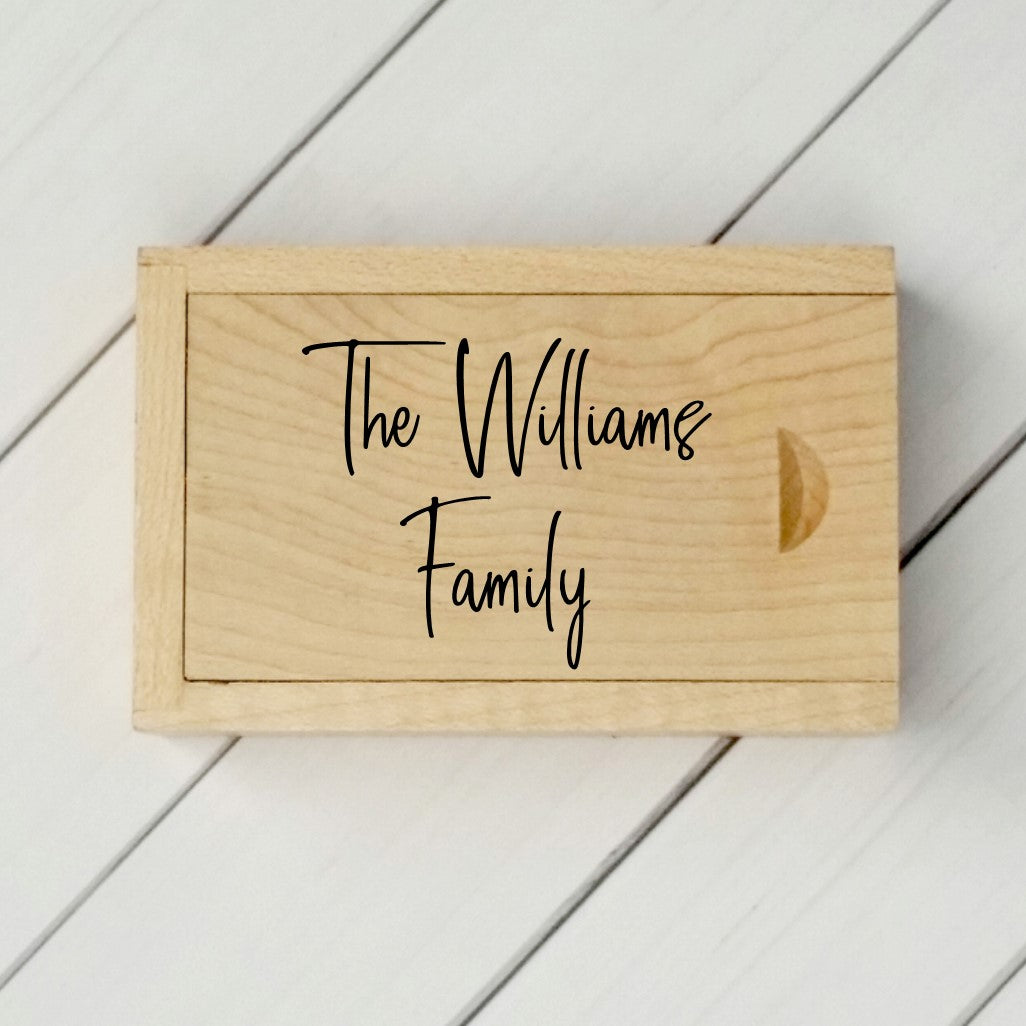 Family Personalised Story box set