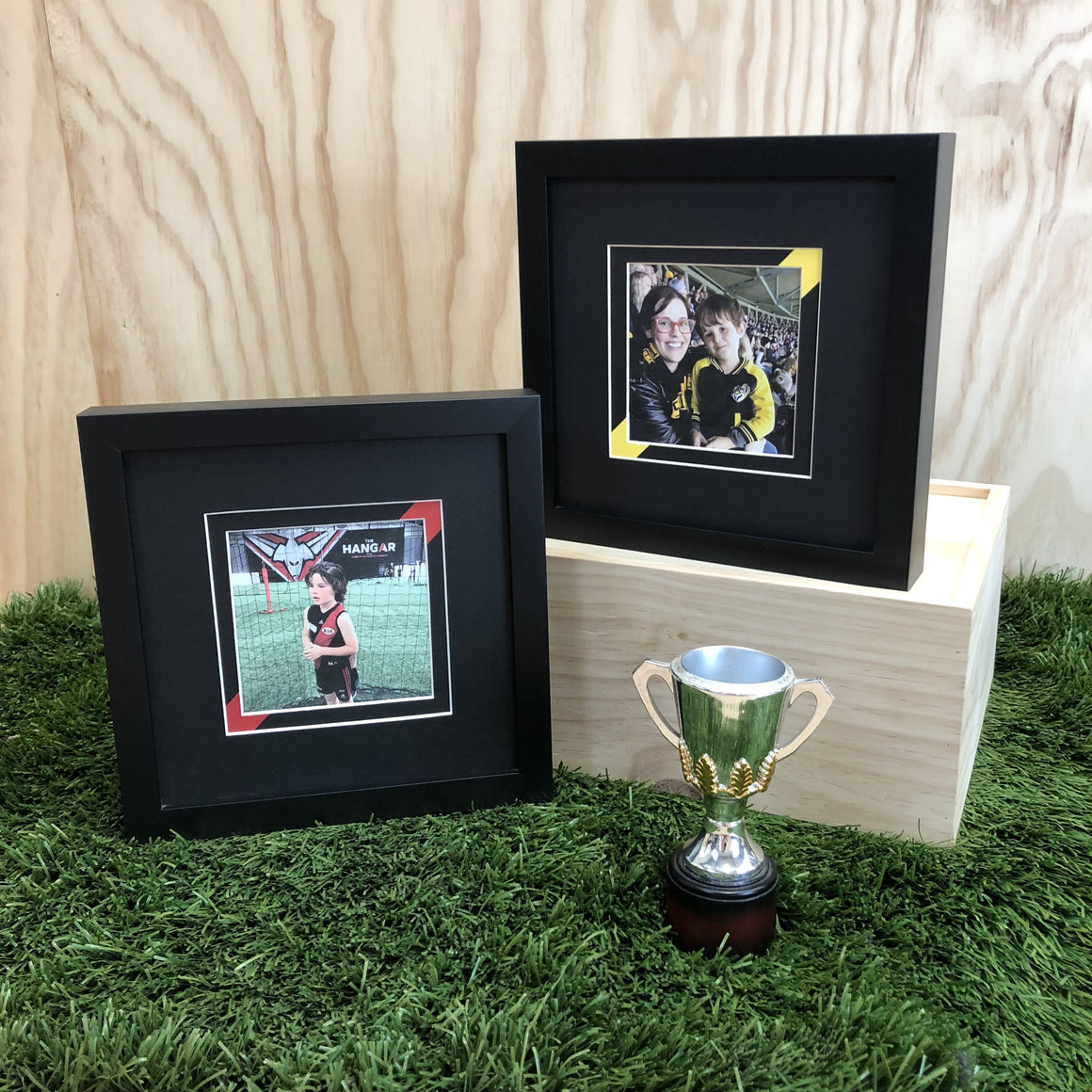 AFL Football, Footy Frames, Footy, Framed Sports Memorabilia, Sports Memorabilia, Western Bulldogs, West Footscray Football Club, Sports Frame, Team Colours, Footy Gift, Sports Gift