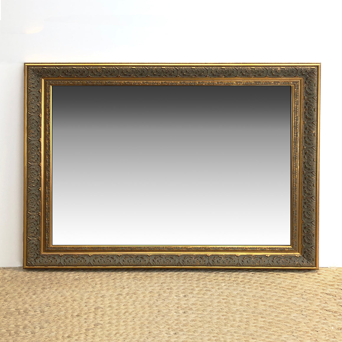 Framed Ornate Mirror 61x91cm
