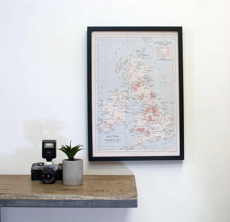 Map pinboards world maps australia maps personalised tagged personalised great britain map pinboard gumiabroncs Choice Image