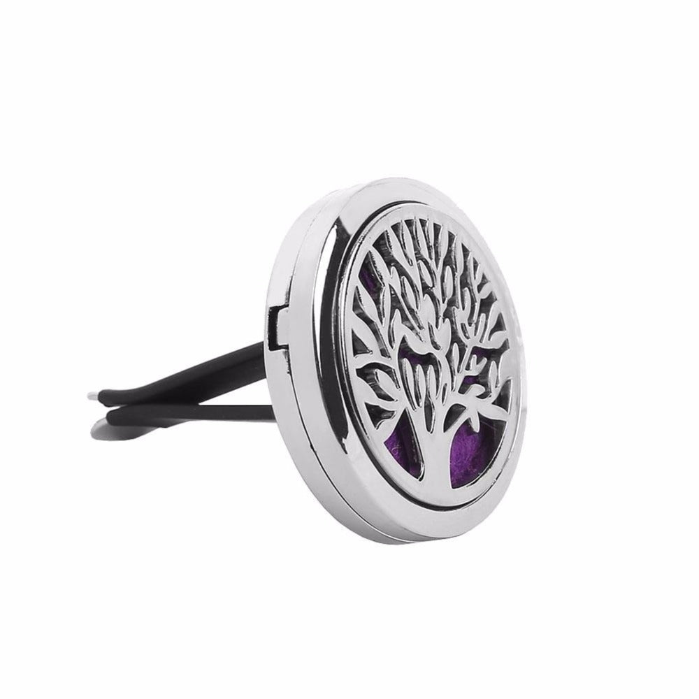 Aromatherapy Car Diffuser With 6 Refill Pads