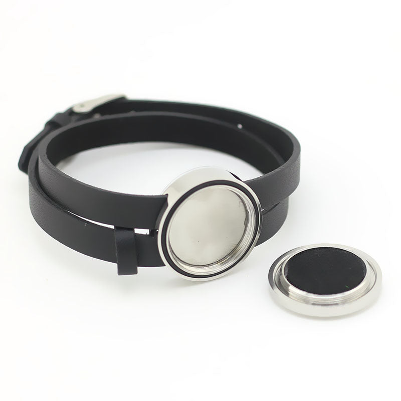 Stainless Steel Aromatherapy Bracelet