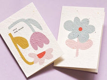 Load image into Gallery viewer, Petal Pals Mini Blooming Cards