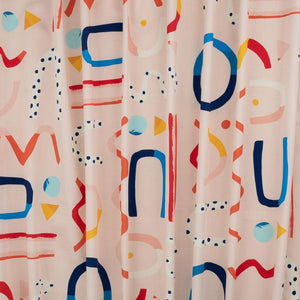 Brook Gossen Festive Fun Pink Burp Cloth