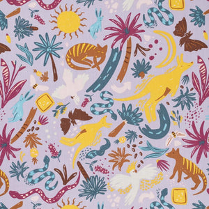 Ellie Whittaker Outback Wild Dusk Burp Cloth
