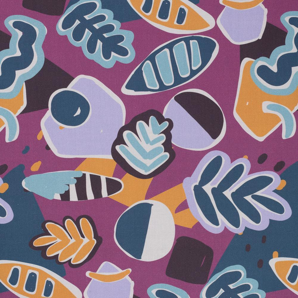 Ellie Whittaker Shapes Wild Dusk Burp Cloth