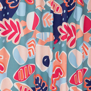 Ellie Whittaker Shapes Wild Flame Burp Cloth