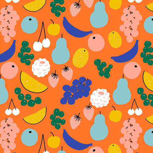 Jennifer Bouron Fruits Orange Classic Bib