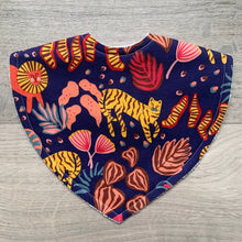 Load image into Gallery viewer, Ellie Whittaker Big Cats Wild Flame Triangle Bib
