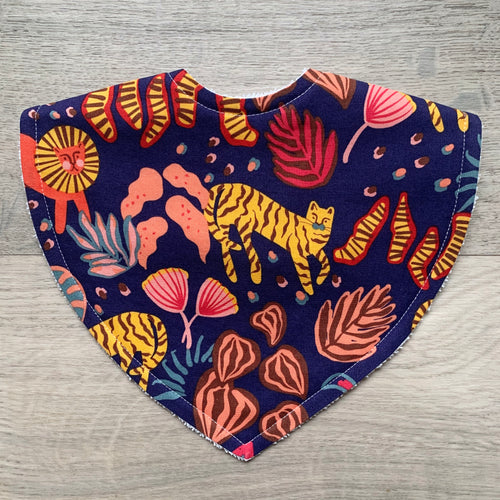 Ellie Whittaker Big Cats Wild Flame Triangle Bib