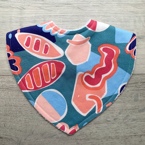 Ellie Whittaker Shapes Wild Flame Triangle Bib