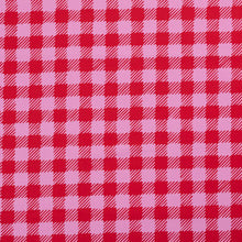 Load image into Gallery viewer, Nerida Hansen Scratchy Gingham Pink Triangle Bib