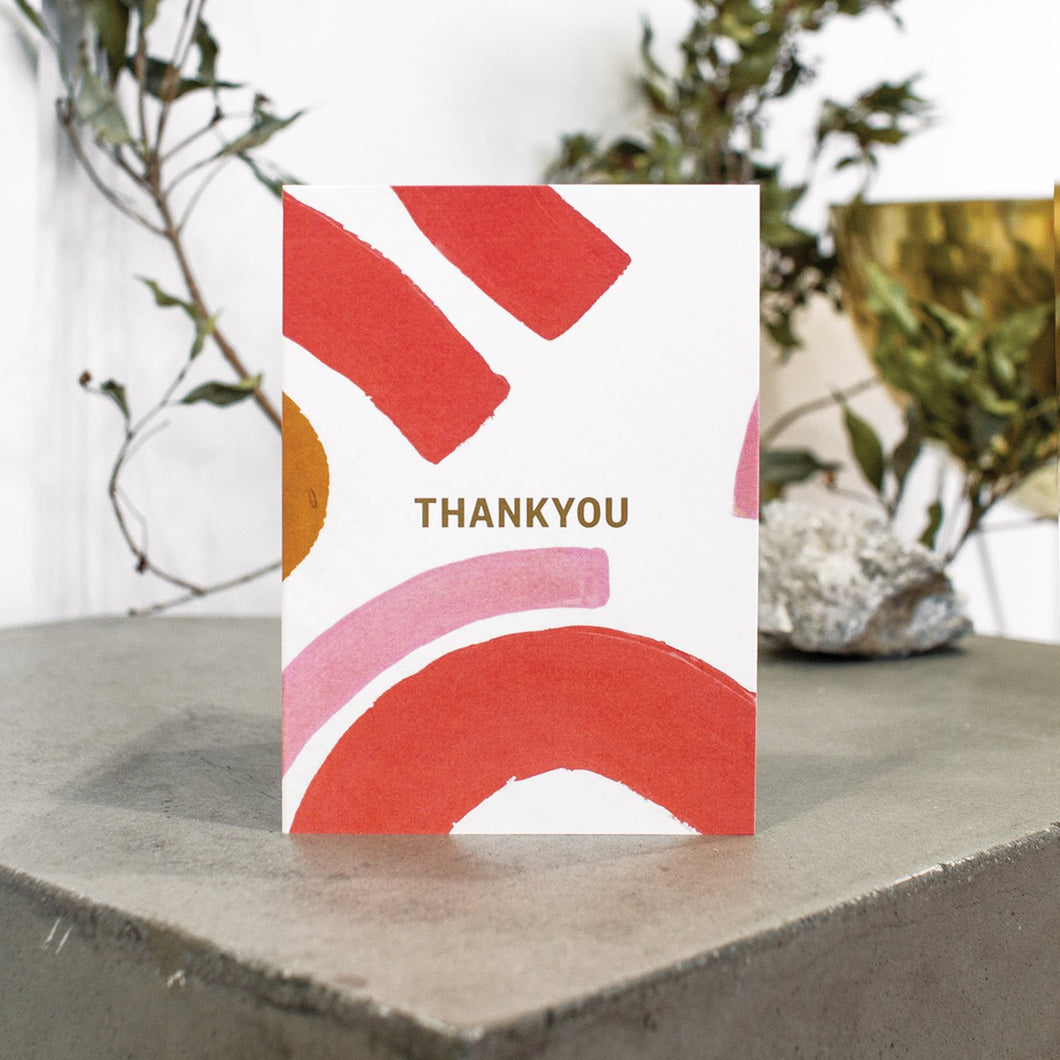 Thank you Rainbows Greeting Card